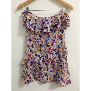 Guess by marciano mini floral dress